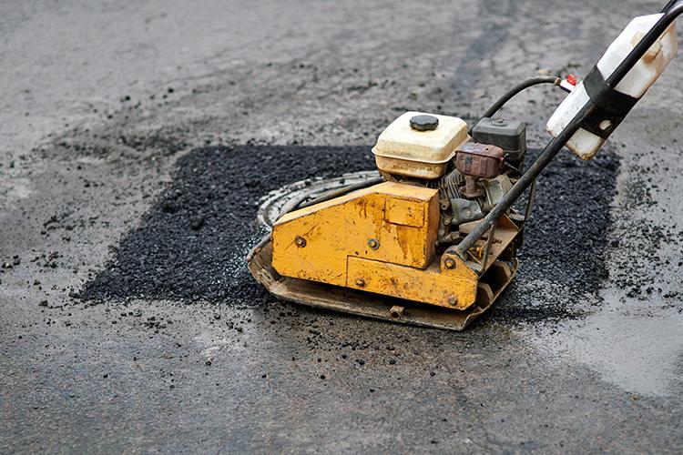 Pothole repairing